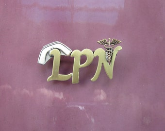 LPN Brooch- LPN Pin- LPN Gift- Pinning Ceremony
