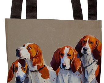 Tote Bag_Hound Pack_tote_bag_accessory_painting_dog_pet_rescue_hound