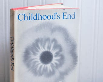Vintage Book  - Childhood's End by Arthur Clark, 1950's Sci Fi,  Science Fiction