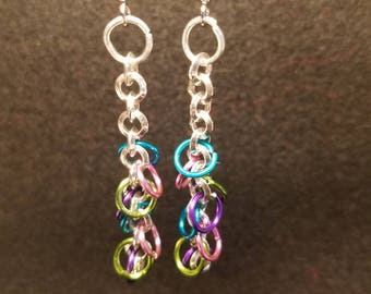 Loop de loop in a rainbow of colors