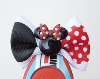 Classic Minnie Mouse Bow for Walt Disney World Magic Bands