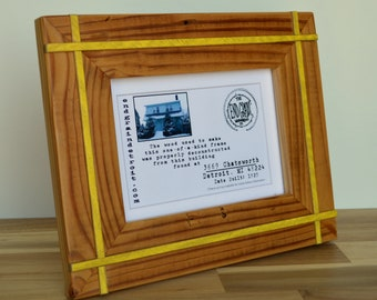 5 x 7 Reclaimed Wooden Picture Frame   3669 Chatsworth, Detroit, MI