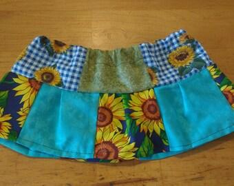 Sunflower Patchwork skirt