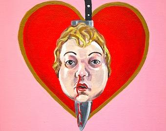 "Love, J.M. - ""Valentine"" Art Print"