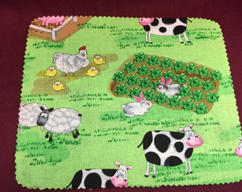 Mouse Pad, Computer, Farm Animals, FREE shipping, Computer Mouse Pad