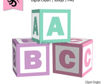 baby blocks clip art etsy rh etsy com baby block clipart free baby blocks clip art free