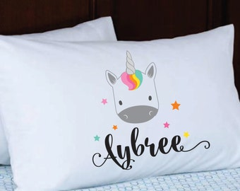 Personalized Pillowcase // Stocking Stuffer // Kids Pillowcase With Name // Birthday Gift Party
