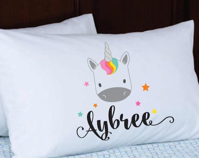 Personalized Pillowcase // Stocking Stuffer // Kids Pillowcase With Name // Birthday Gift Party