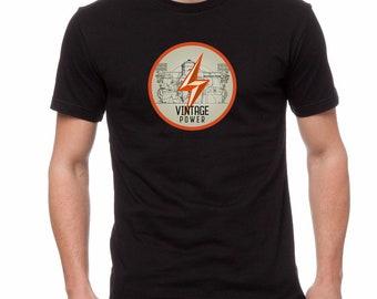 "VW T shirt - ""Vintage Power"""