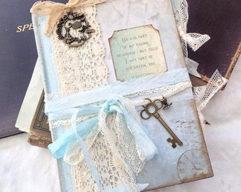 Alice in Wonderland Wedding Guest Book