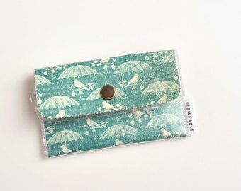 Birds and Umbrellas  - Card Wallet