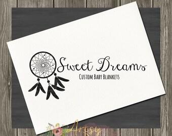 Instant Logo Dream Catcher Logo Design, Premade Logo, Instant Download Logo, Watercolor Logo, PSD Logo Template,  Logo #28
