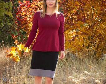 Organic Hemp Columbine Skirt - eco friendly women's skirt