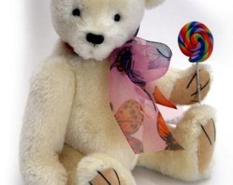 """Lollipop 15cm / 6""""  Bear Pattern"""