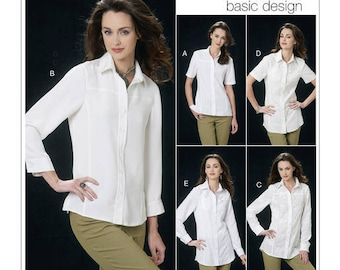 Vogue patterns Basic designs V8689 New Un-cut Paper Pattern Size: 6-8-10-12