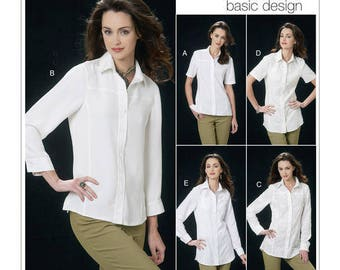 Vogue patterns Basic designs V8689 New Un-cut Paper Pattern Size: 6-8-10-12