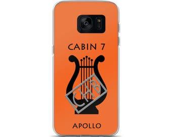 Camp Half-Blood Inspired Percy Jackson Cabin 7 Apollo Samsung Case