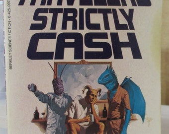 Time Travelers Strictly Cash by Spider Robinson Vintage 1987 Edition SC