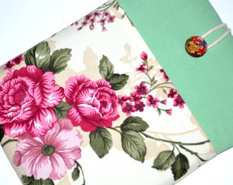Gadgets ipad mini 3 sleeve, 7 inch iPad Mini 4 Sleeve iPad Mini 4 Case Padded with Pocket iPad Mini 3 Cover- Floral