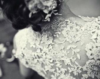 Custom Lace Bridal Shrug