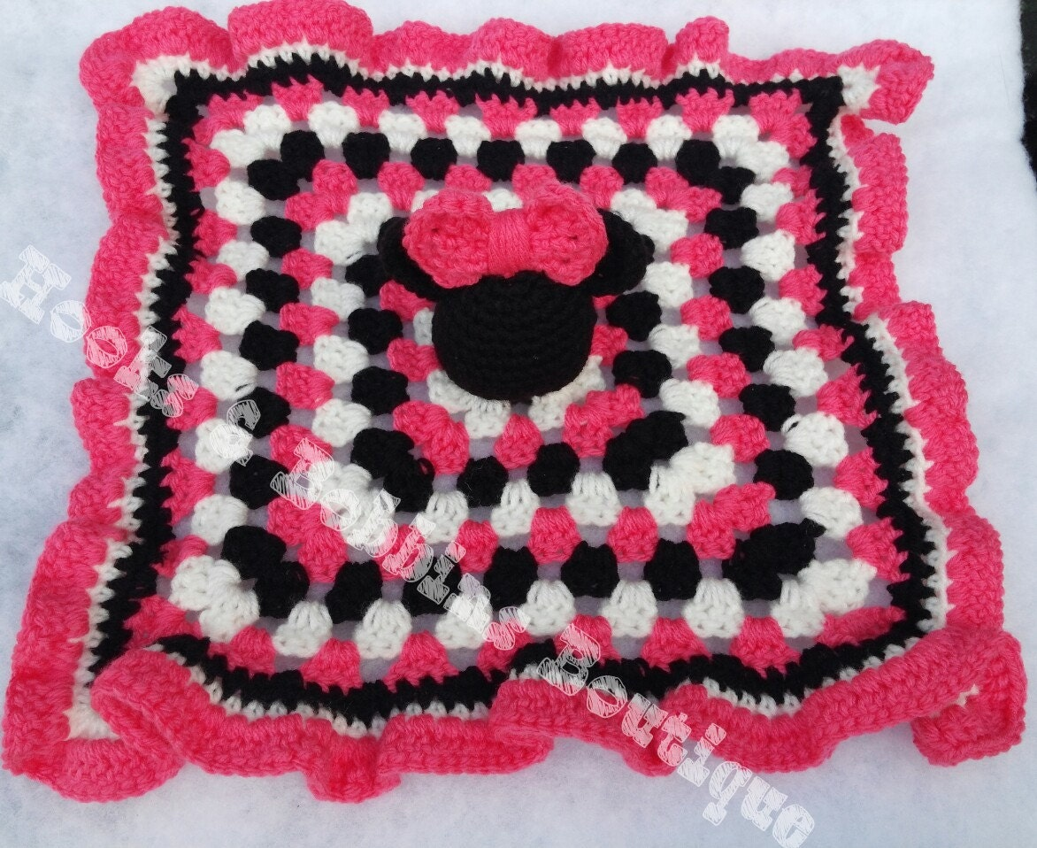 Colorful Free Minnie Mouse Crochet Pattern Image - Easy Scarf ...
