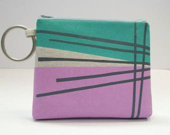 A Perfect Path Zippered Clutch with Handle