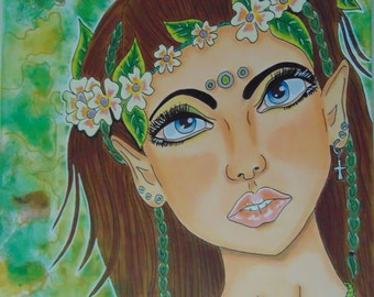 Forest Princess Giclee Print