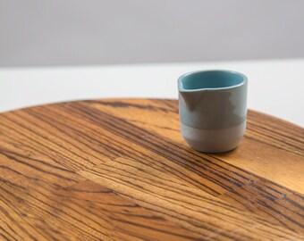 Milk Jug | Porcelain milk jug | Celadon blue | Small jug | Tableware
