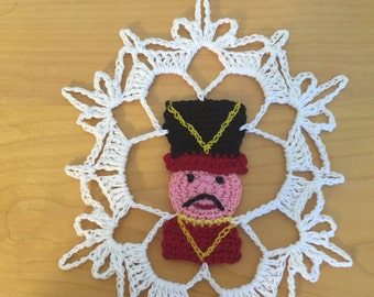 Toy Soldier Snowflake pattern/not a finished product - no refund