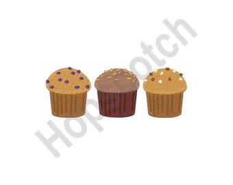 Muffins - Machine Embroidery Design