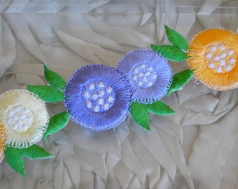 Floral Iron On Appliques