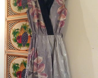 Dress vintage daywear party frock small Japanese