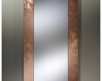 Mirror BASIC HALL COPPER / copper Modern traditional rectangular 75 x 160 cm