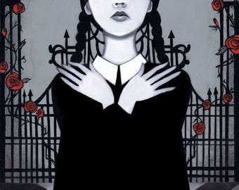 Wednesday Addams 8x10 Fine Art Print