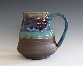 LARGE Ceramic Mug, 24 oz, ceramic cup, handthrown mug, stoneware mug, pottery mug, unique coffee mug, ceramics and pottery