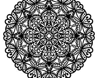 Mandala Coloring Page 2