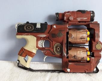 Nerf gun flipfury steampunked