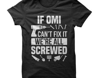 Omi shirt, omi tshirt, omi t shirt, omi t-shirt, omi gift, shirt for omi, gift for omi, my favorite paople call me omi, omi funny shirt, omi