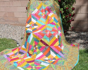 Boho Square Full Quilt