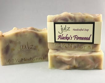 Alaska's Fireweed- Scented Bar Soap