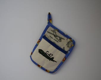 C-47 WWII  Aircraft Pot Holder