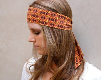 Boho Hair Wrap, Skinny Scarf, Neck Bow, Hair Scarf, Purse Scarf, Hat Scarf, Ankle Scarf, Twilly, Wrist Scarf, Gift for Her, Ready to Ship