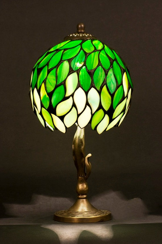 decorative night lights light stained glass lamp table lamp table decor desk 30300
