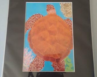 Hawksbill Sea Turtle (PRINT)