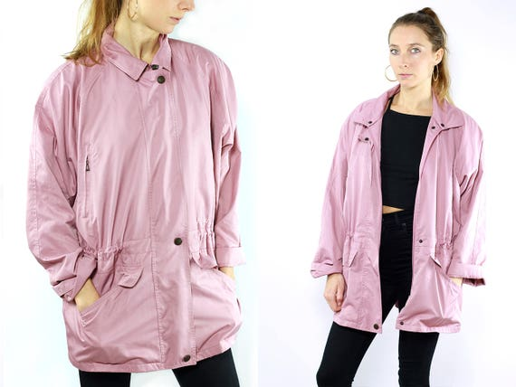 Pink Jacket Australian / Australian Vintage / Pink Vintage Jacket / Summer Jacket / Pink Coat / Australian / 90s Jacket Pink / Coat Pink