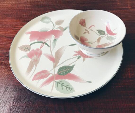 & Mikasa Silk Flowers Crudité Set