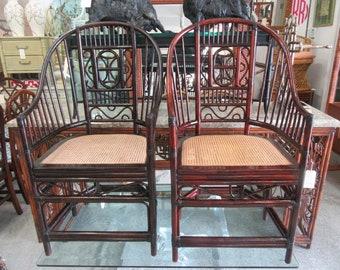 Pair of Brighton Style Pavilion Chairs