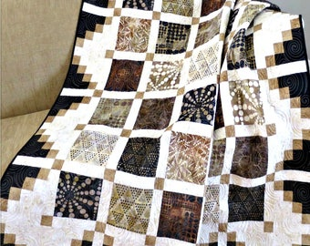 Simply Cool Quilt Pattern #444e PDF Download