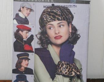 Vogue 8403 Hat and Glove Pattern