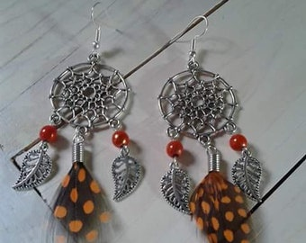 Earrings catches dreams